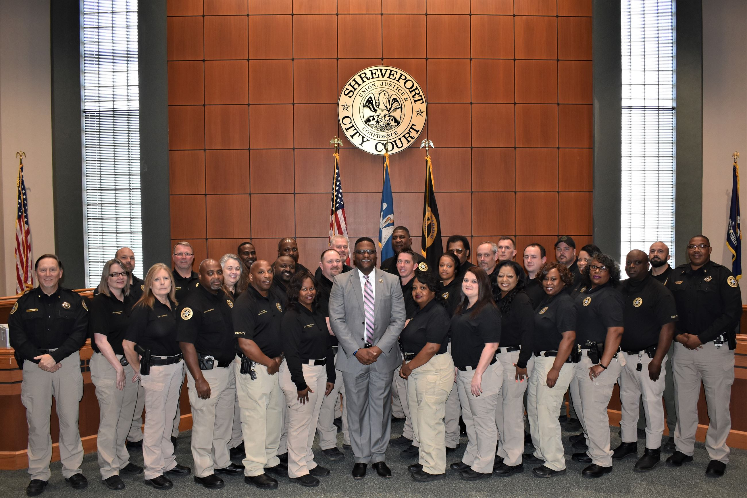 Shreveport City Marshal's Office 2018
