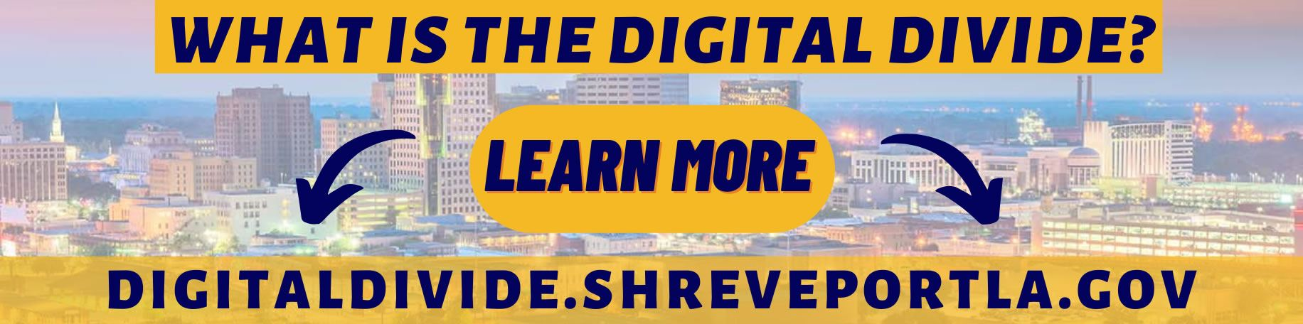 Shreveport Digital Divide