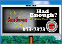Had Enough - Report Crime When It Happens