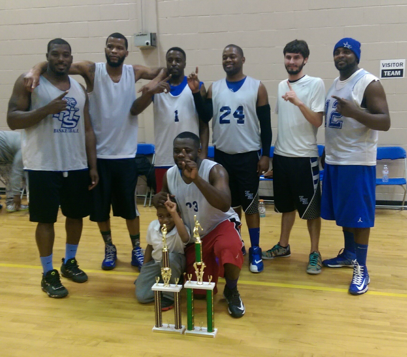 Fall Basketball Champions